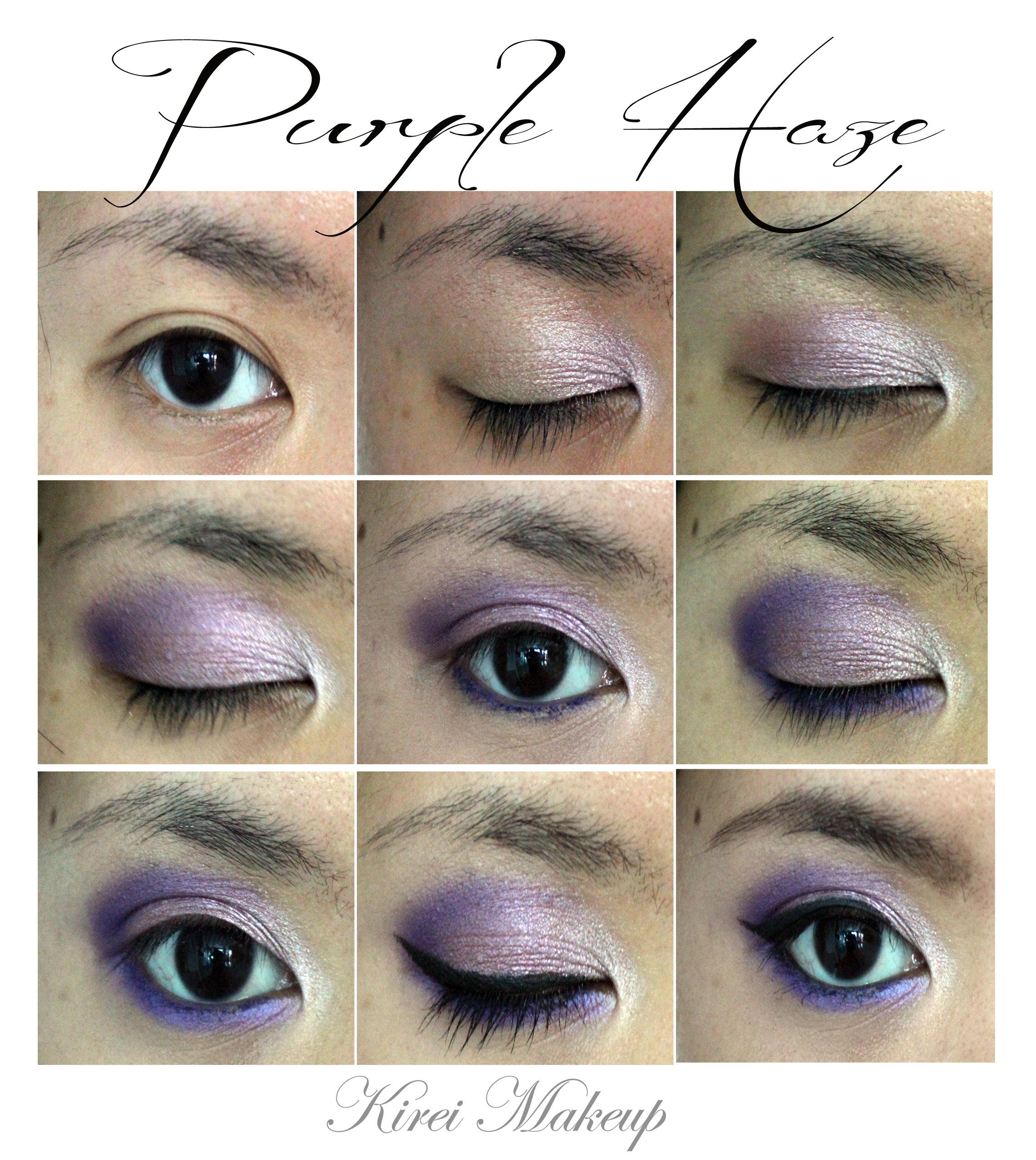Makeup For Ever purple eyeshadow