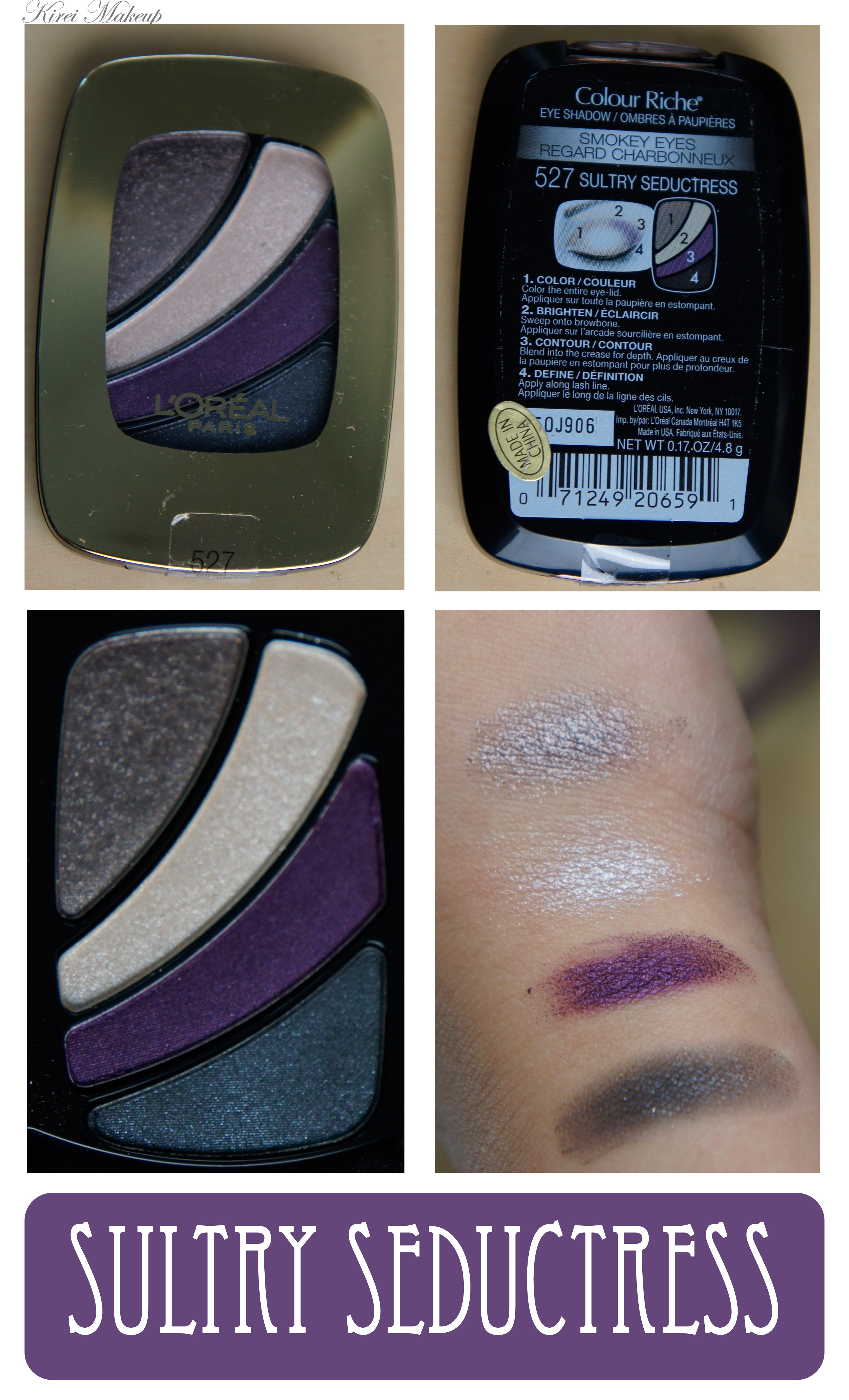 l'oreal colour riche eyeshadow