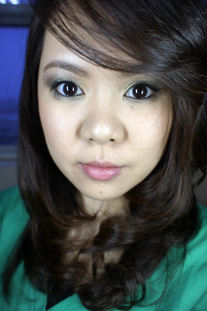 tinker bell inspired eye makeup