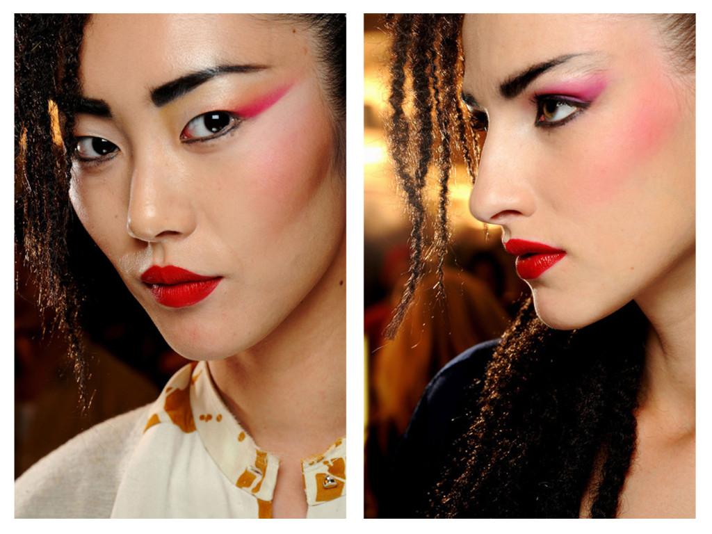 spring 2013 makeup trend