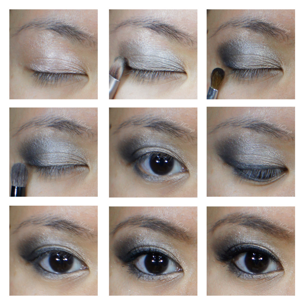silver smoky eyes