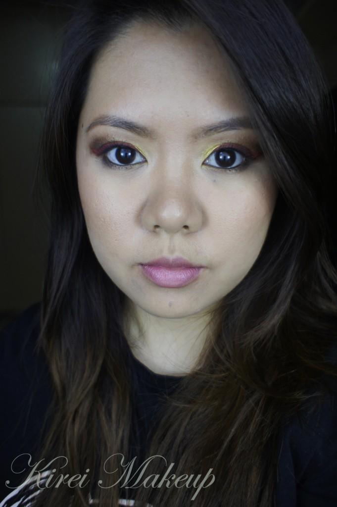 iron man inspired makeup
