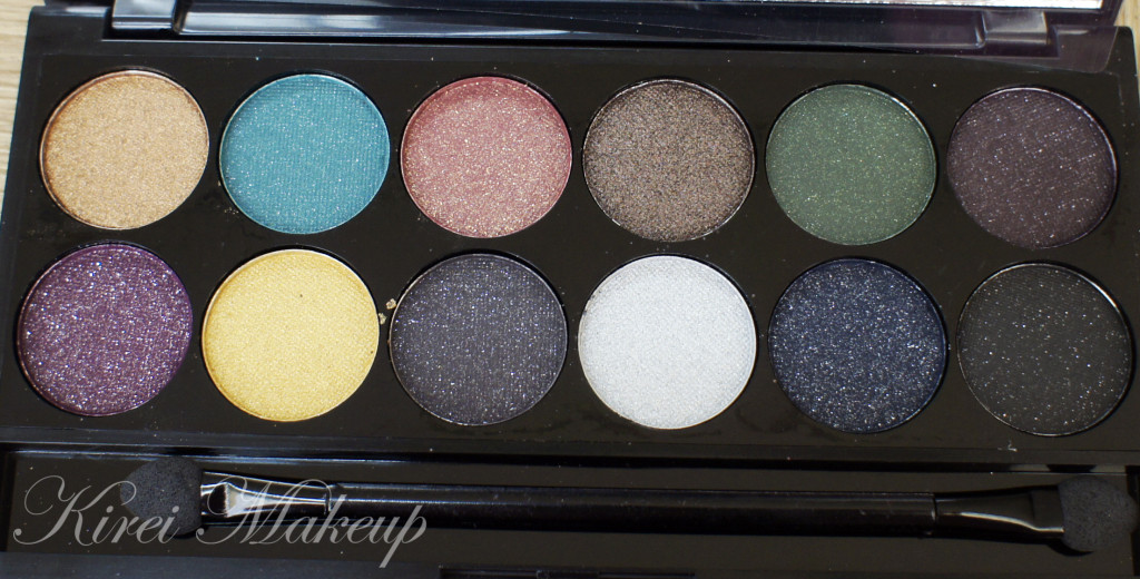 sleek sparkle 2 palette