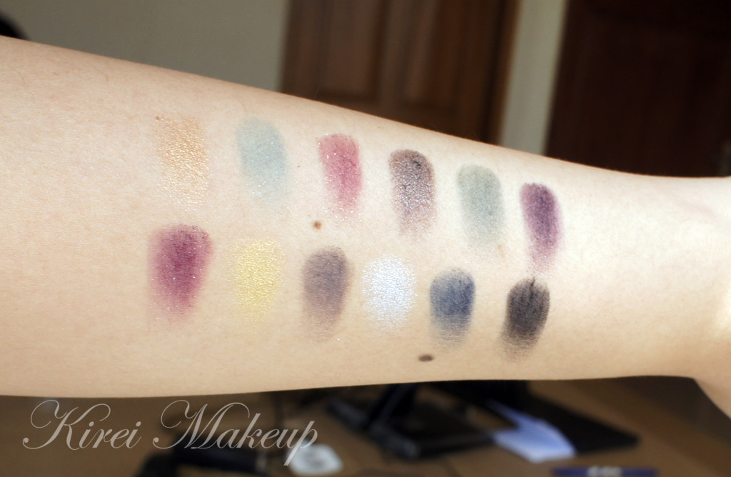 sleek sparkle 2 palette swatch