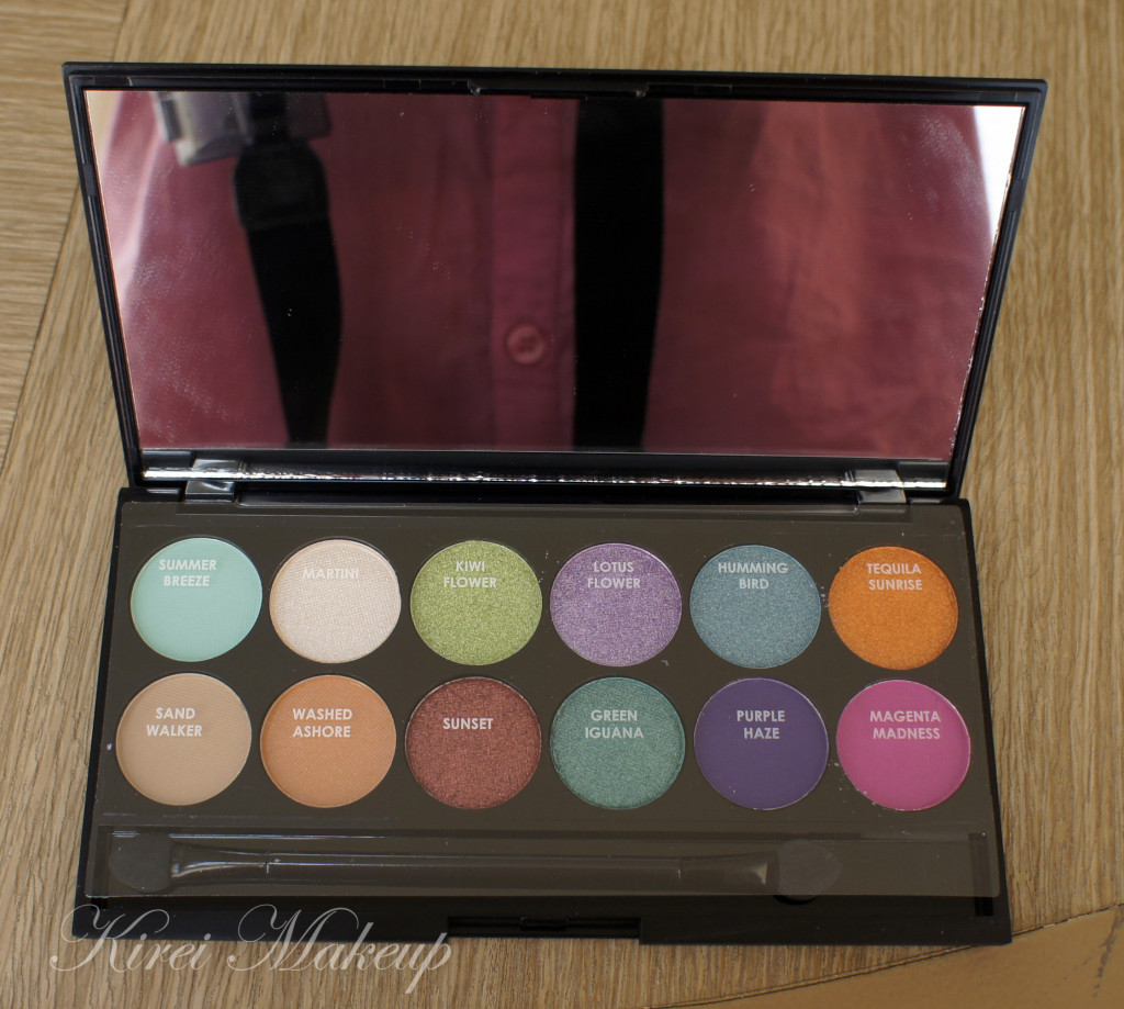 Sleek snapshot palette