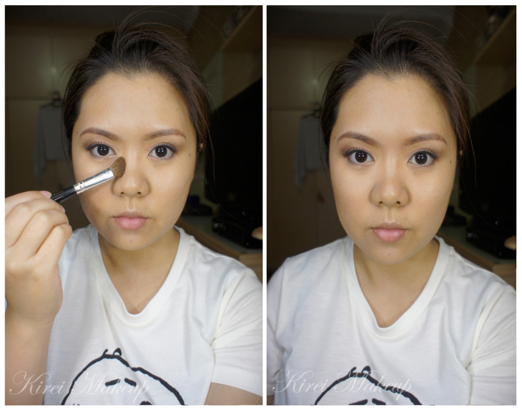 how to contour nose