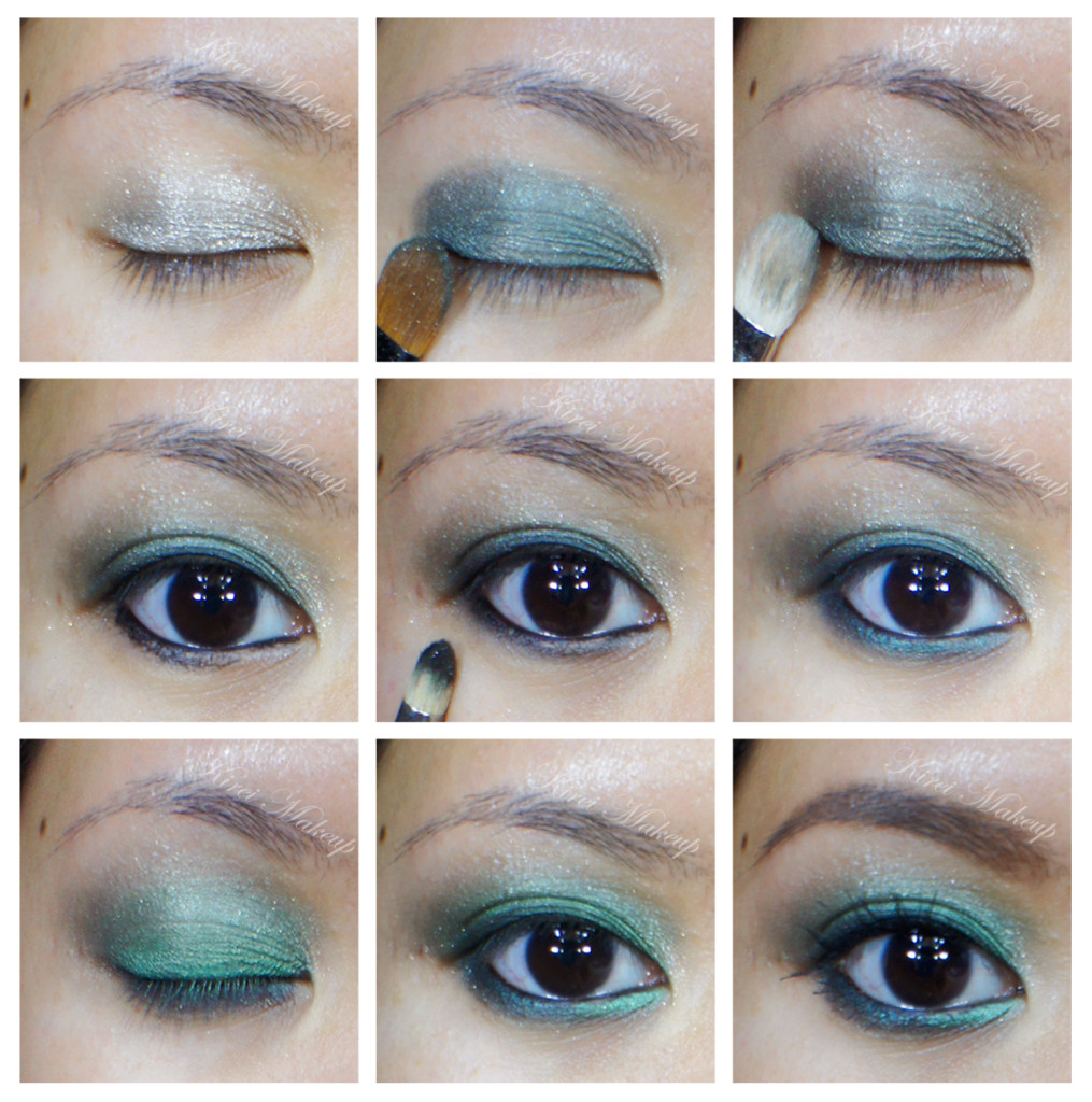 emerald smoky eyes