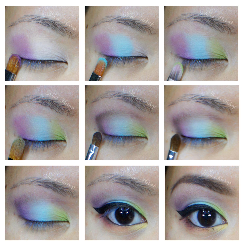Eye crayons makeup