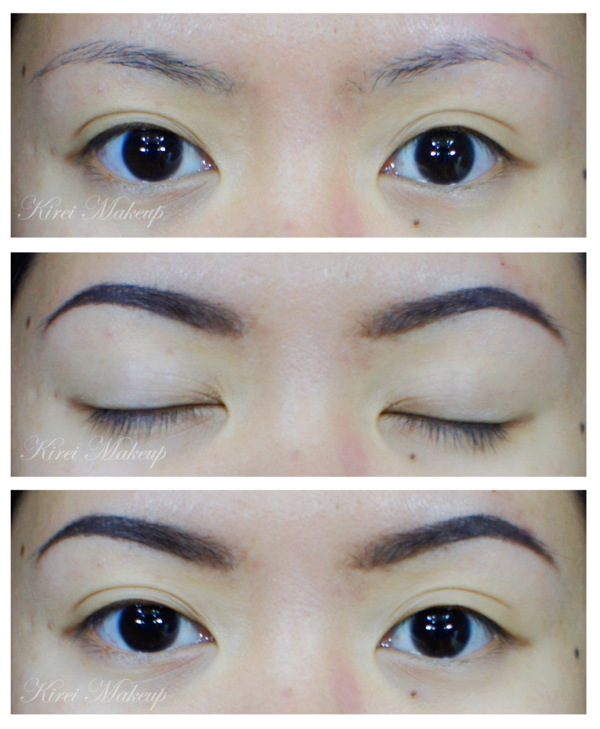 how to shape brows