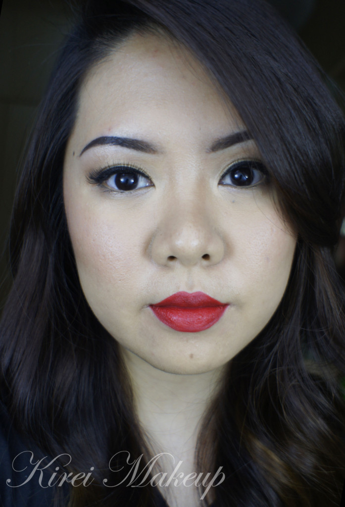 asian red lips