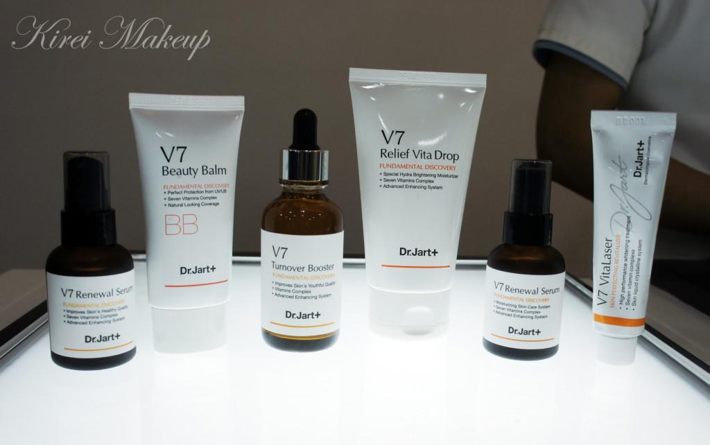 Dr. Jart V7 skincare line