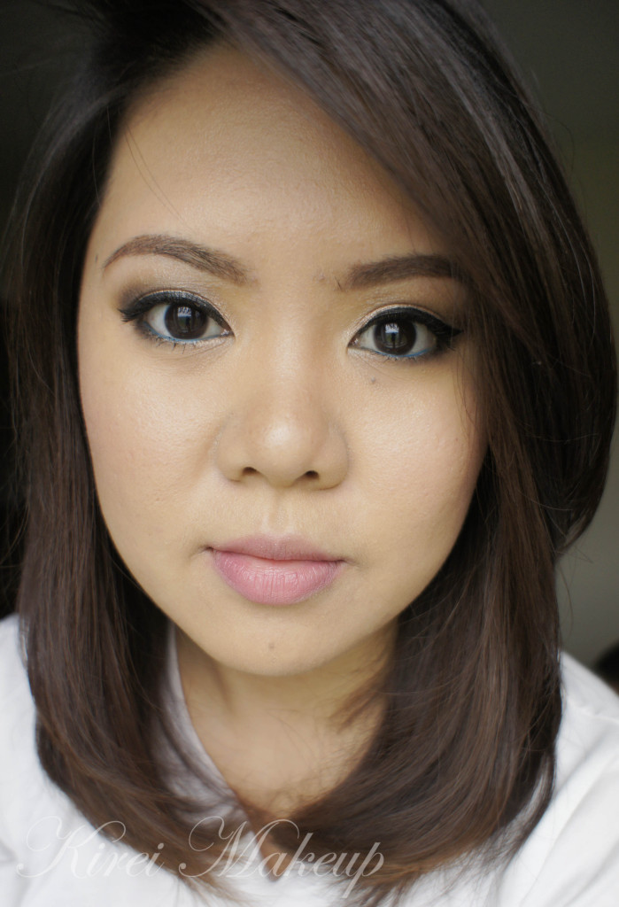 Natural makeup using Urban Decay Naked Basics