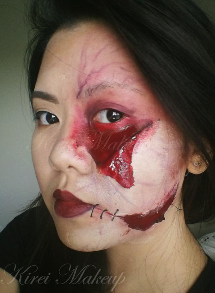 ripped skin makeup