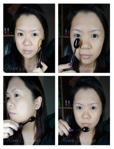 how to use MAC Oval 6 brush