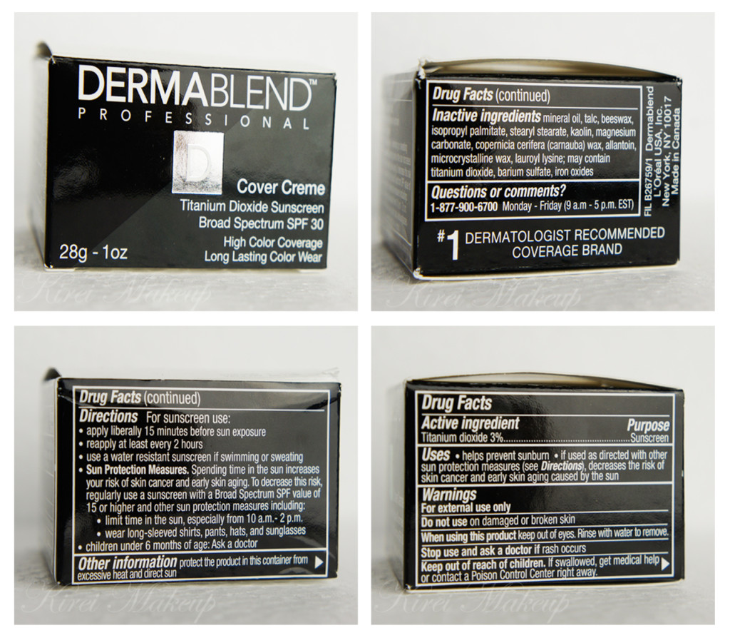 Dermablend Cover Creme review NC30
