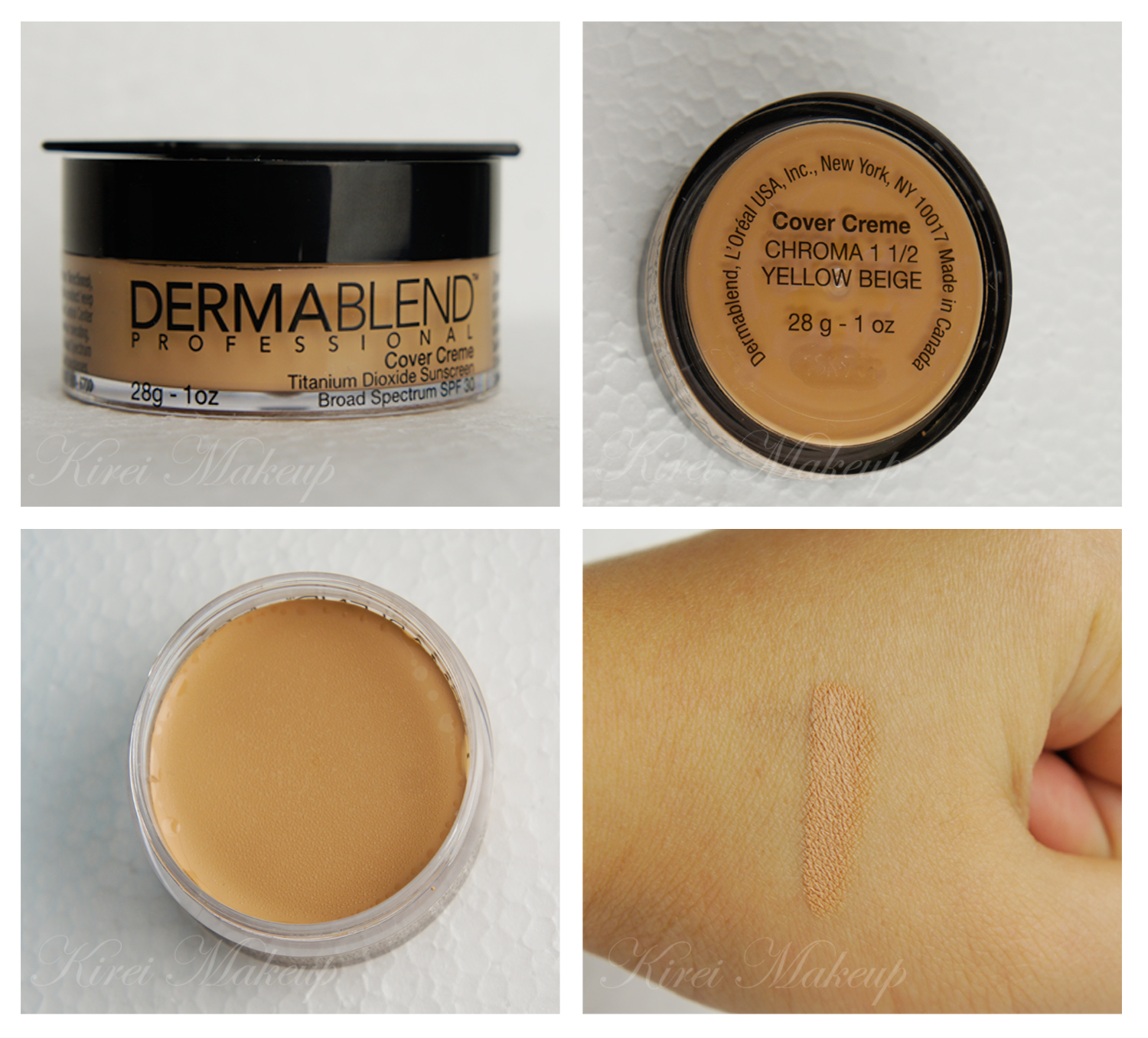 Dermablend cover creme video | My-Rome...