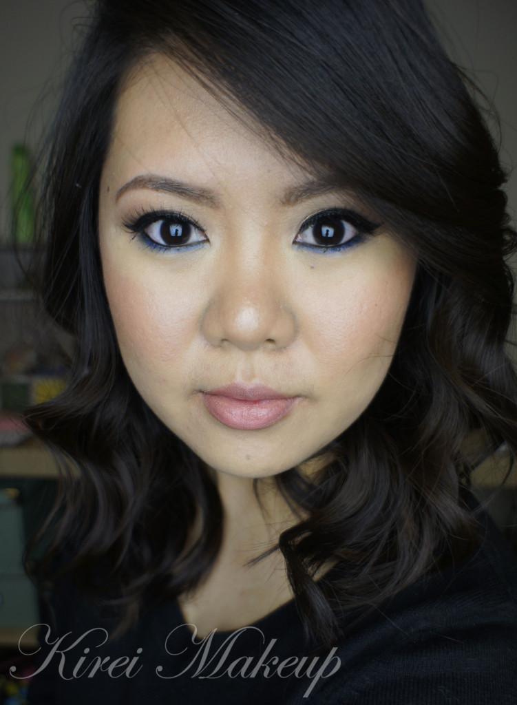 Stila Cobalt Blue eyeliner