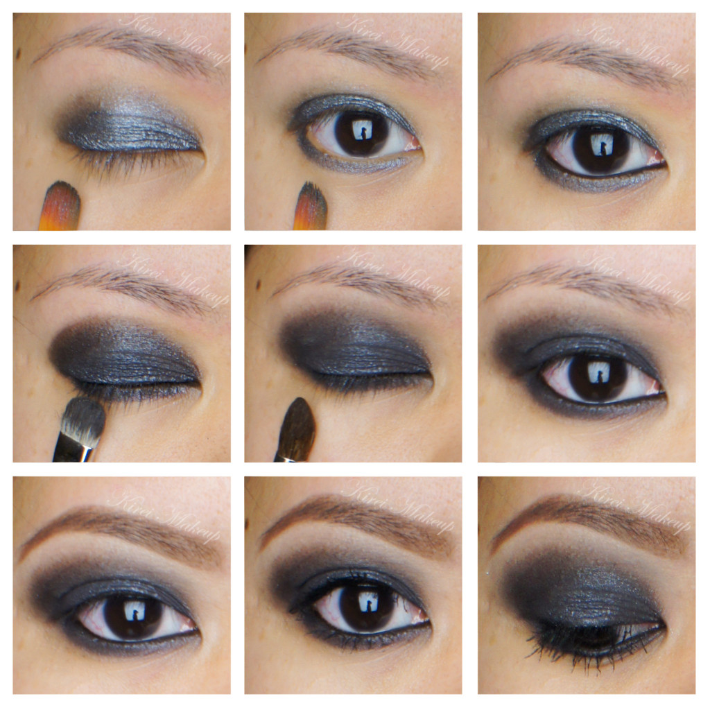 black smoky eyes