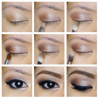 easy smoky eyes for asian