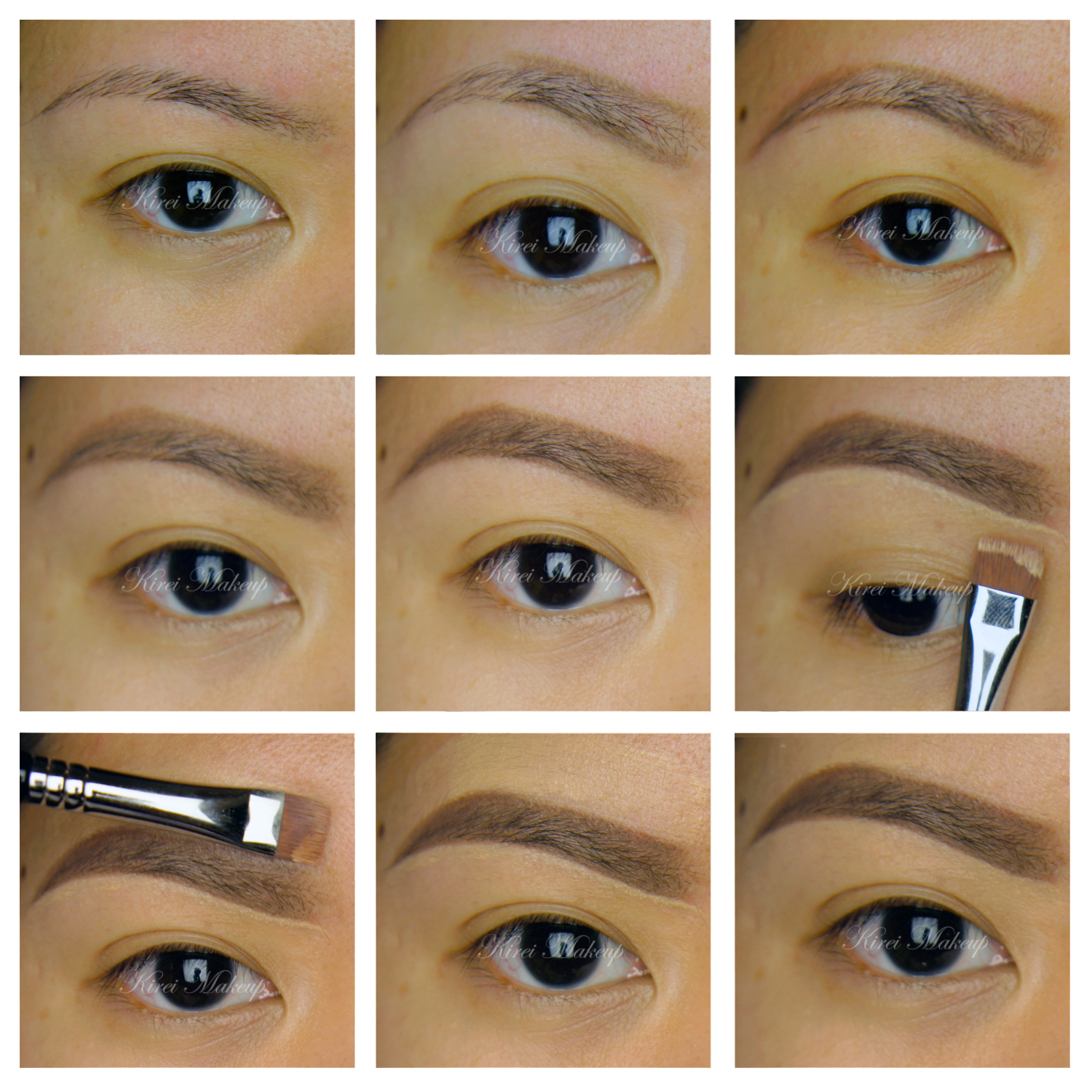 How to fill in eyebrows kirei makeup