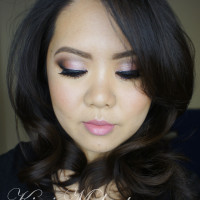 rose smoky eyes