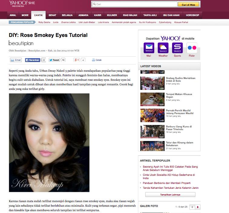 Featured on kirei makeup yahoo indonesia stopboris Gallery