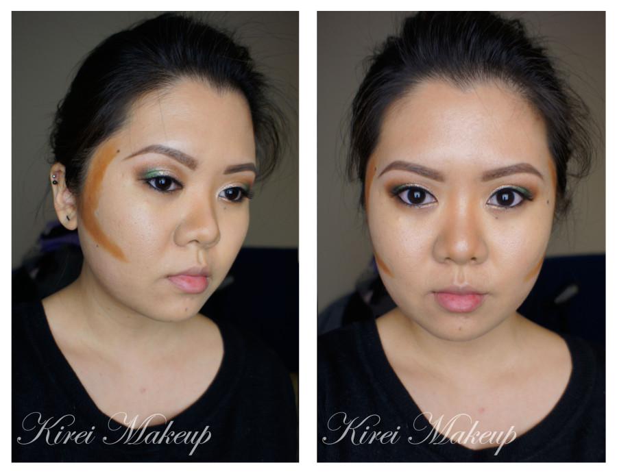 Contouring asian face
