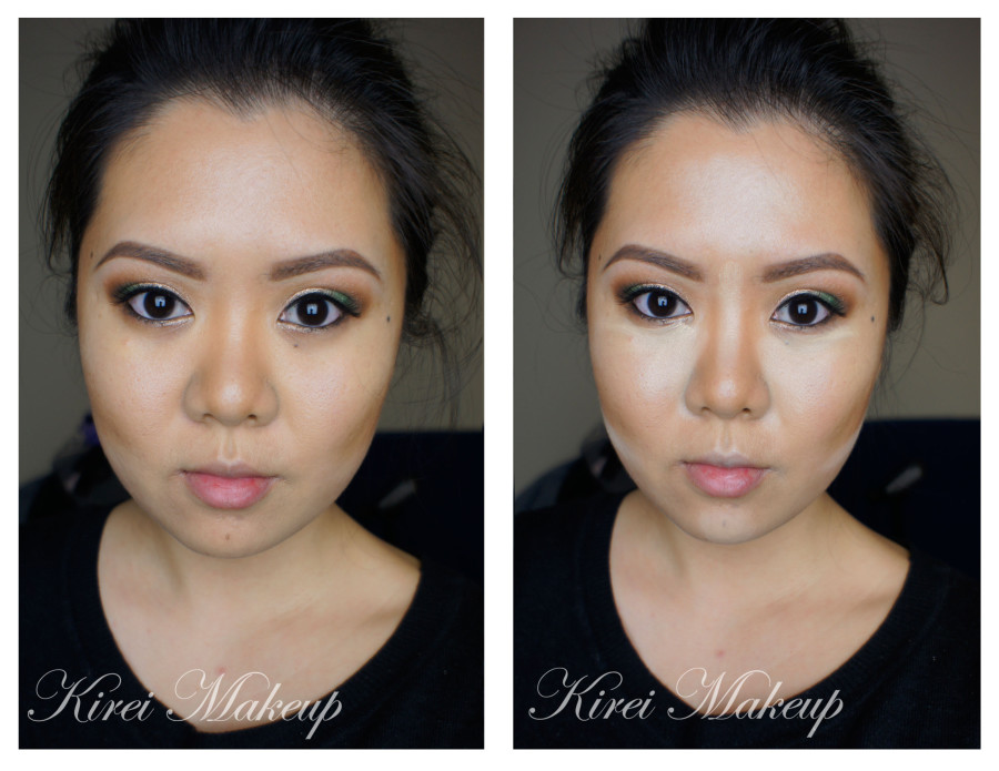 how to contour asian face