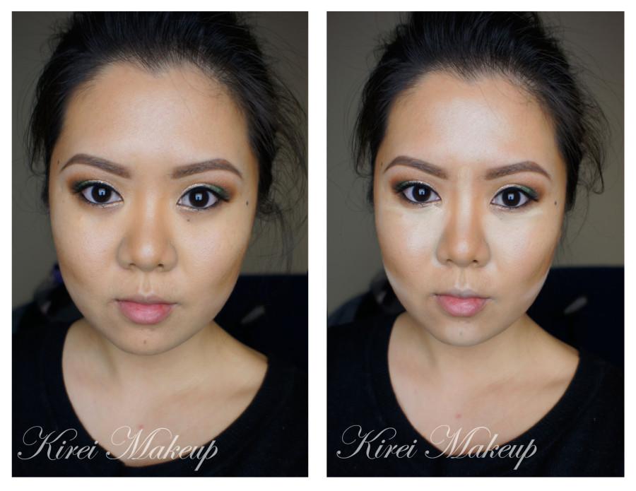 how to contour asian face