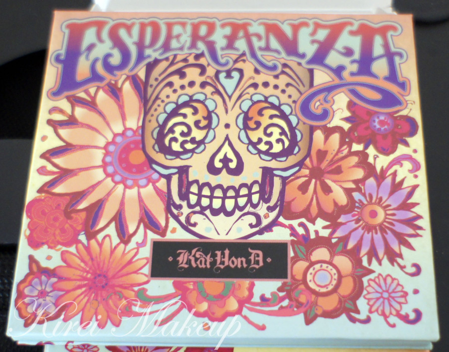 Kat Von D Esperanza palette review