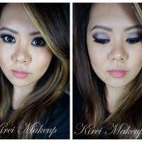 NARSissist Lavender Grey smoky eyes