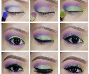 urban decay electric palette tutorial