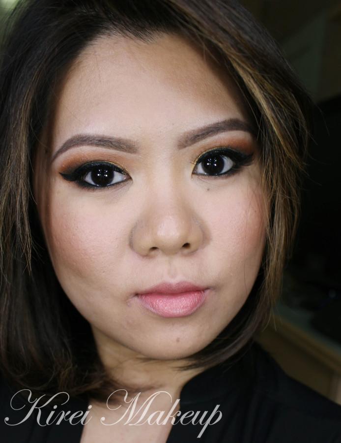 Kat Von D Monarch makeup look