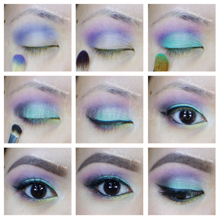 sleek makeup candy palette tutorial