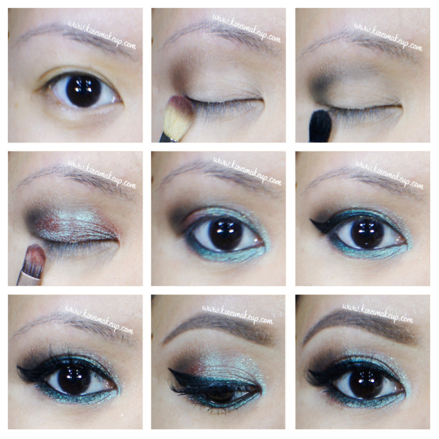 wearable blue smoky eyes