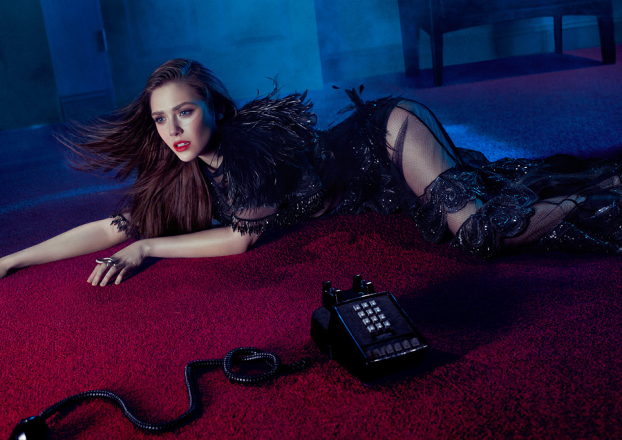 Elizabeth Olsen for Flaunt Magazine
