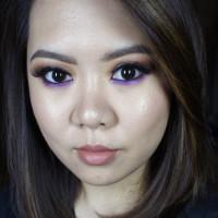 kat von d monarch palette makeup look