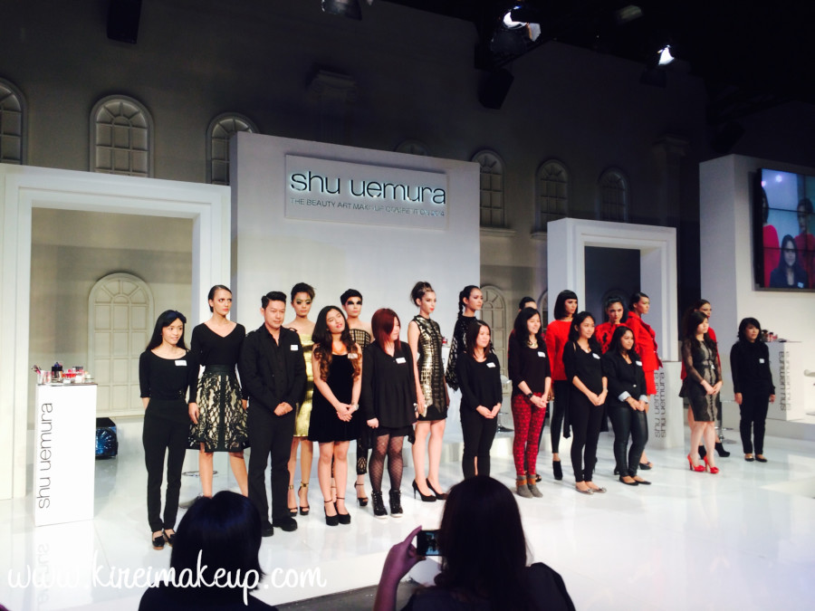 Shu Uemura Brave Beauty competition top 10