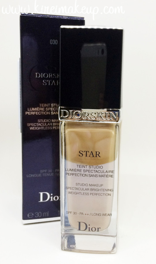 Diorskin star foundation review