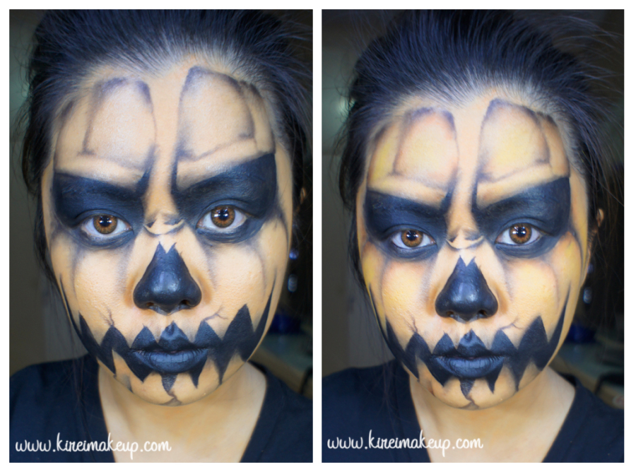 pumpkin king makeup tutorial