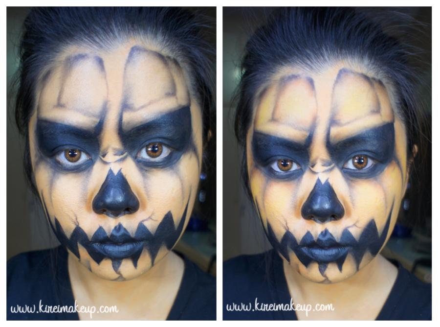 pumpkin king makeup tutorial