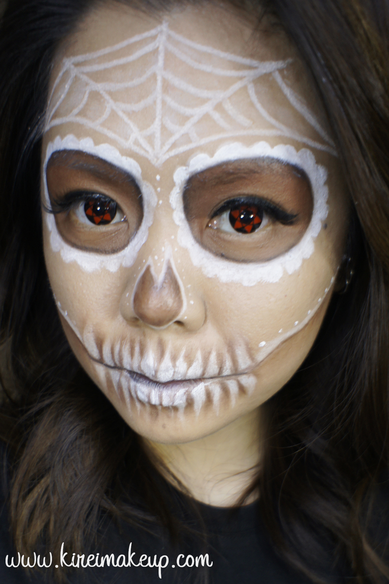 Halloween archives kirei makeup easy sugar skull makeup baditri Image collections