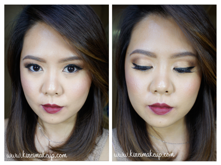 fall bridal makeup