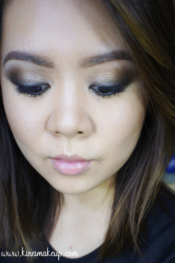 easy grunge smoky eyes