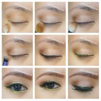 glitter new year makeup tutorial