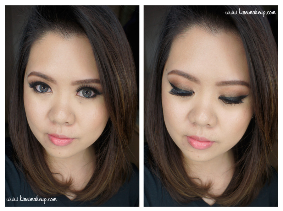 christmas party makeup tutorial