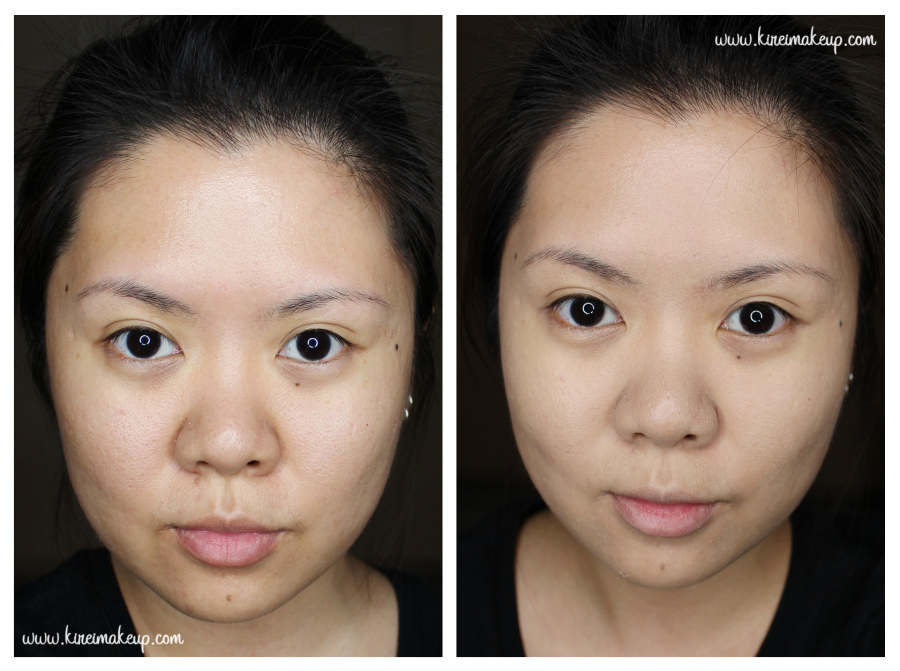 Shu Uemura Oleopact Before and after