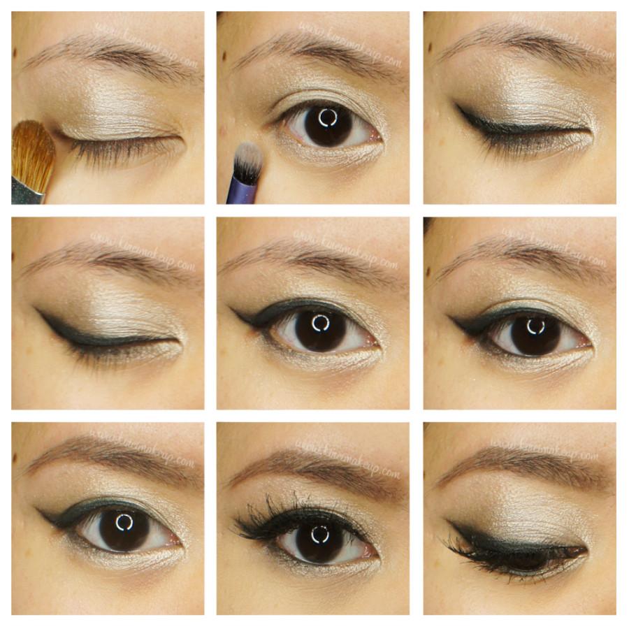 silver eyeshadow tutorial