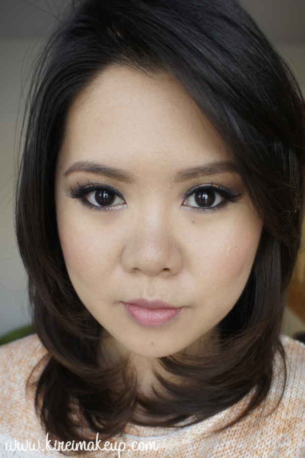 asian soft smoky eyes