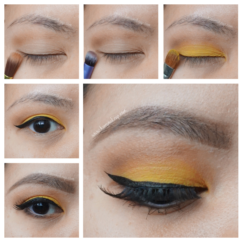 Yellow eye makeup tutorial kirei makeup 1 baditri Image collections